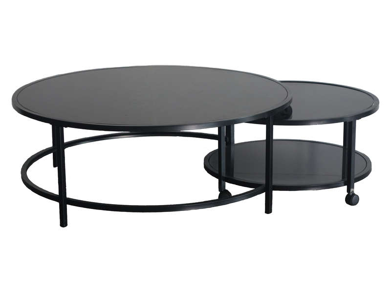 table basse logan coloris noir vente de table basse conforama. Black Bedroom Furniture Sets. Home Design Ideas