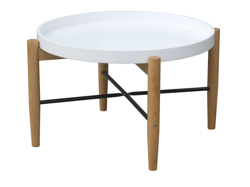 Table Basse Olga Coloris Blanc Vente De Table Basse