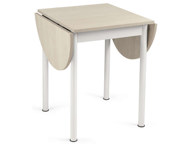 Table carr e avec allonge l115 cm max flipp vente de Table sejour carree