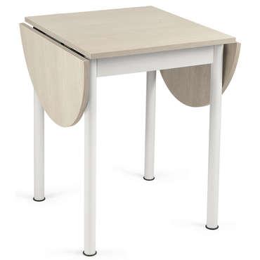 Table carrée avec allonge L115 cm max FLIPP