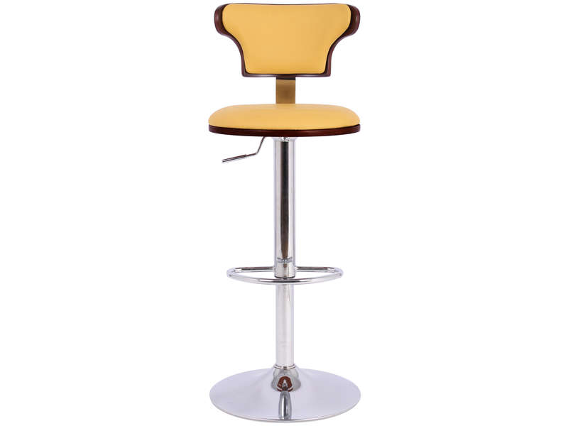 Tabouret de bar MIKE coloris jaune - Vente de Chaise de jardin ...