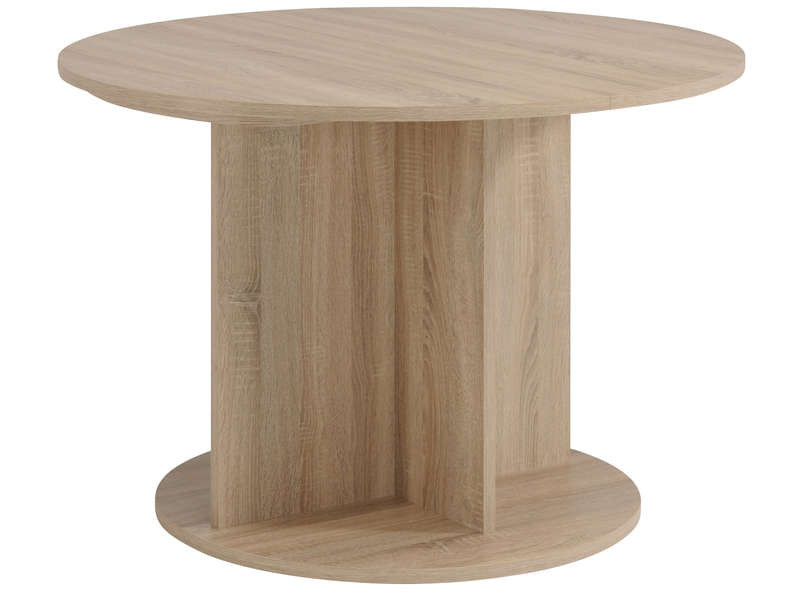 Table ronde avec rallonge conforama fabulous table de for Salle a manger conforama table carre