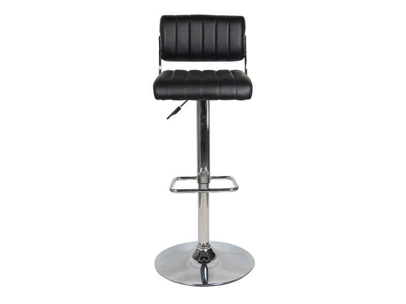 Tabouret De Bar Barber Coloris Noir Vente De Bar Et Tabouret De