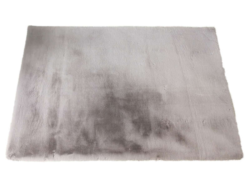 Tapis 120x170 Cm Rabbit Coloris Gris Vente De Tapis Salon Et