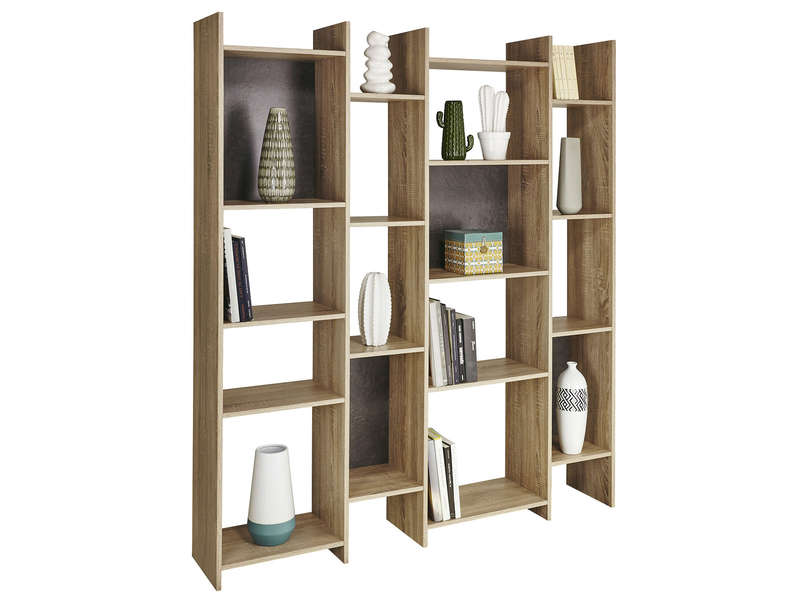 biblioth que s paration fumay vente de biblioth que et vitrine conforama. Black Bedroom Furniture Sets. Home Design Ideas