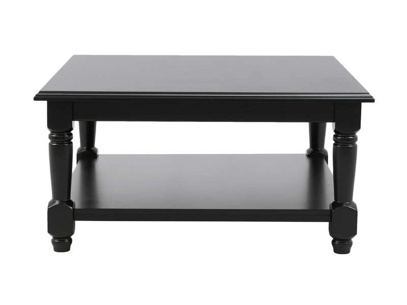 table basse carr e ebony coloris noir vente de table basse conforama. Black Bedroom Furniture Sets. Home Design Ideas