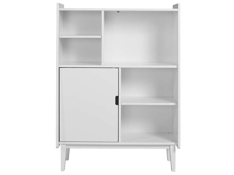 biblioth que enfant monty coloris blanc vente de petit. Black Bedroom Furniture Sets. Home Design Ideas
