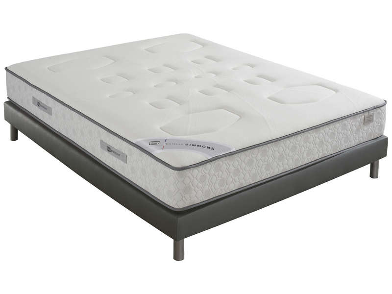 matelas ressorts 140x190 cm simmons evasion vente de simmons conforama. Black Bedroom Furniture Sets. Home Design Ideas