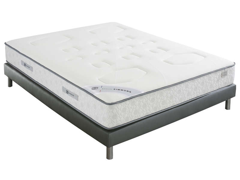 matelas ressorts 160x200 cm simmons evasion vente de simmons conforama. Black Bedroom Furniture Sets. Home Design Ideas