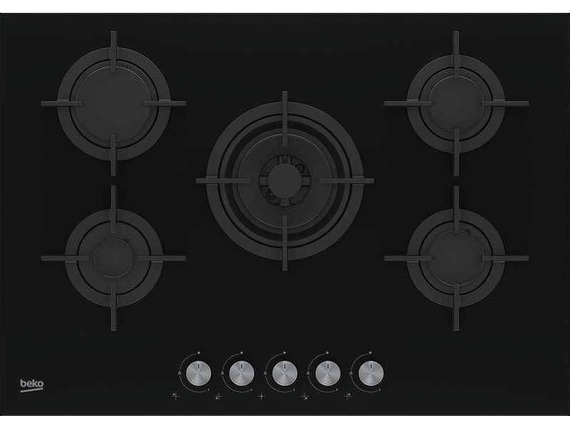 Table de cuisson à gaz BEKO HILW75222S