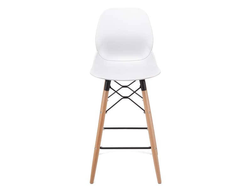 Tabouret de bar OSLO coloris blanc