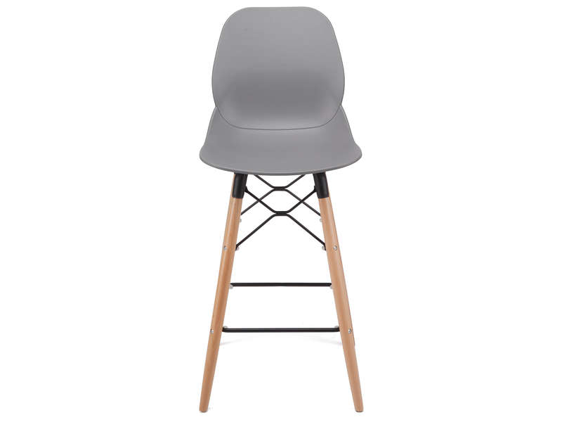 Tabouret de bar OSLO coloris gris