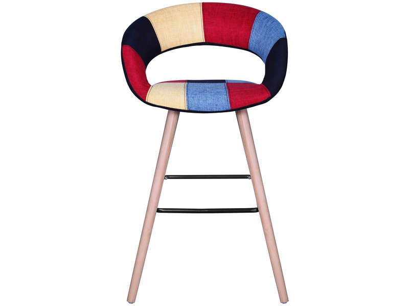 Tabouret Lou Coloris Multicolore Vente De Bar Et Tabouret De Bar Conforama