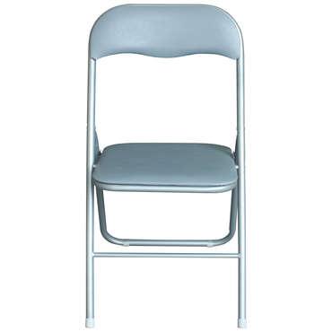 Chaise pliante LILAS coloris gris