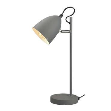 Lampe de bureau UMA coloris gris