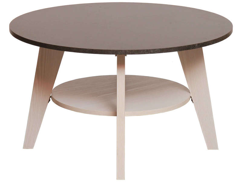 Table Basse Ronde Noir Conforama