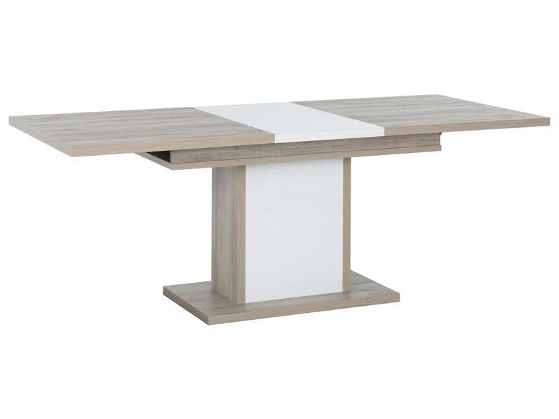 Table 160 Cm Avec Allonge Aston Vente De Table Conforama