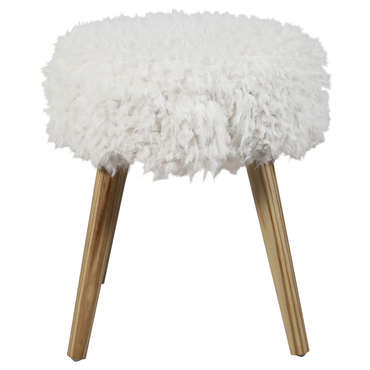 Pouf SHEEPY coloris blanc