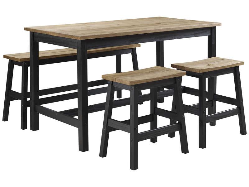 Ensemble Table Et 2 Chaises De Cuisine Brazil Vente De Ensemble Table Et Chaise Conforama
