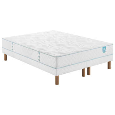 Matelas + sommier Ressorts 160x200 cm MERINOS KEEP ON