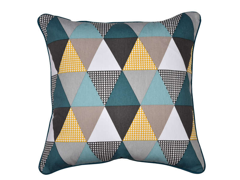 Coussin motifs 45x45 cm TRIANGLE 2