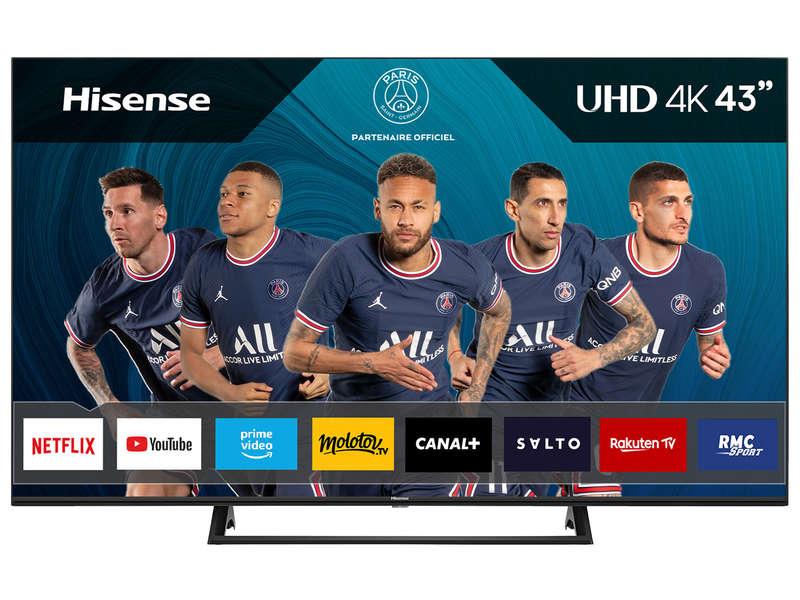Téléviseur LED 108 cm UHD 4K HISENSE 43A7300F