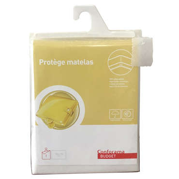 Protège matelas 140x190 cm BUDGET