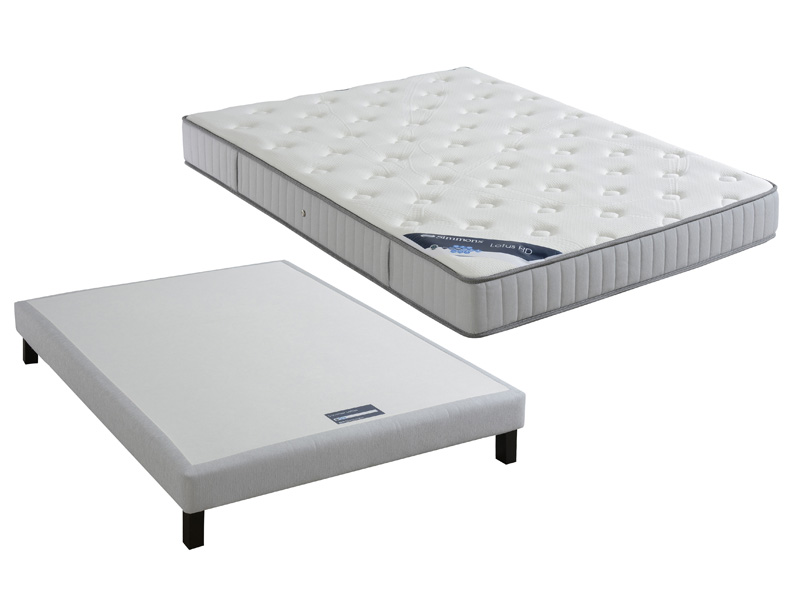 matelas ressorts 160x200 cm sommier tapissier 160x200 cm simmons vente de ensemble matelas et. Black Bedroom Furniture Sets. Home Design Ideas
