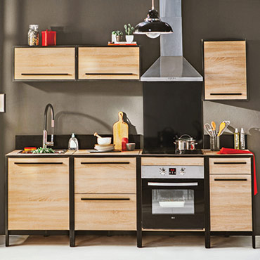 cuisine fabrik vente de les cuisines pr ts emporter conforama. Black Bedroom Furniture Sets. Home Design Ideas