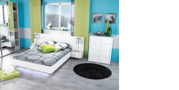 Chambre adulte inspiration d co et ambiances conforama for Chambre entiere adulte
