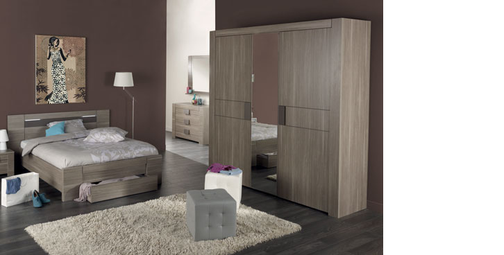 Chambre adulte inspiration d co et ambiances conforama for Exemple de chambre adulte